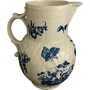 18th c. Dr. Wall Worcester Porcelain Pitcher