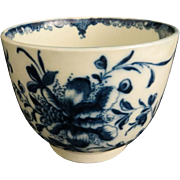 18th c. Dr. Wall Porcelain Soup Bowl