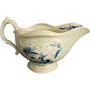 18th c. Dr. Wall Porcelain Gravy Boat