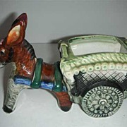 SALE Donkey cart planter Occupied Japan