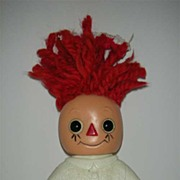 Raggedy Ann bank by Royalty Inc.