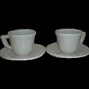 Hazel Atlas Demitasse Child cup & saucer