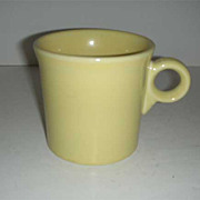 SALE Fiesta  HLC  sunflower yellow handled mug