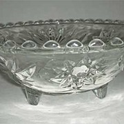 EAPC Anchor Hocking three toed bowl #768