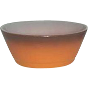 SALE Fire-King Anchor Hocking  Orange  Cereal bowls