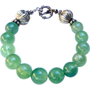 REDUCED Green Fluorite Bracelet