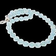 SALE Aquamarine Necklace