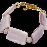 REDUCED Pink Mother of Pearl Bracelet