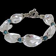 Rock Quartz Crystal Nugget Bracelet