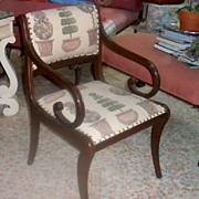 SALE PENDING Chair-Topiary Side Accessory