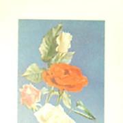 William Buckner-Floral Lithographs Trio (3)