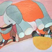 Vintage Children's Art