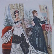 Ladies La Mode Fashion Prints