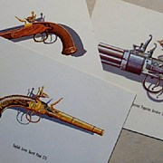 SOLD Gun Lithographs