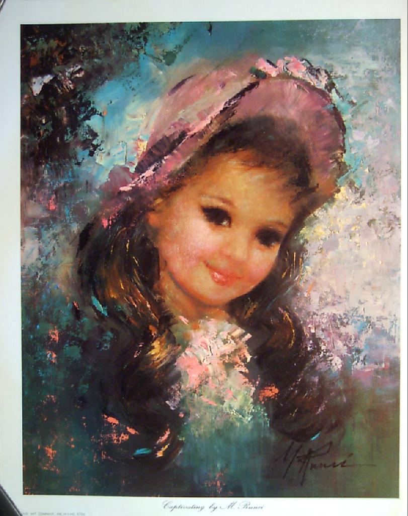 Vintage Children S Portrait Quot Captivating Quot By Runci From