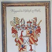 Coat of Arms German Town of Bafel