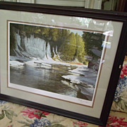 Ken Danby Signed Limited Ed Along the Cascades