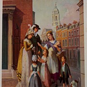 V. De Beauvoir Ward Art-Vintage English Street Scenes