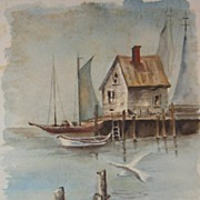 Signed Limited Edition Watercolor Print by Patricia Brewer