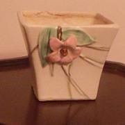 McCoy Flowered Vase