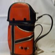 SOLD Golf Liquor Bottle Carrying Bag