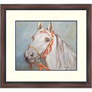 Framed Lithograph-Tritt-A Fine Arabian Horse