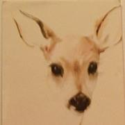 SOLD Deer Watercolor