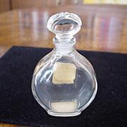 Caron Or Et Noir Very Rare, ca 1949 Empty Perfume Bottle