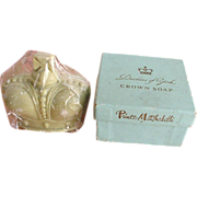 Rare Duchess of York Crown Soap from Prince Matchabelli