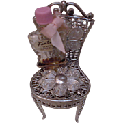 Fantasia Perfume Bottle in its Chair