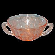 Pink Sharon Cream Soup Bowl