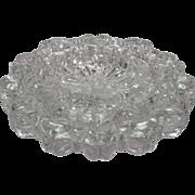 Set of 3 Nesting Glass Ashtrays