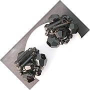 Jonne Black Beaded Earrings