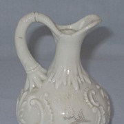 REDUCED Louis XV Custard Glass Cruet