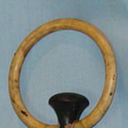 Antique barrel stopper or plug