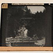 Set of 5 Assorted Travel Lantern Slides