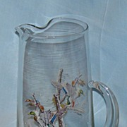 80 oz game bird Mallard pitcher