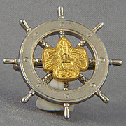 1940's Girl Scout Mariner pin