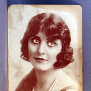 Real Photo Post Card Marguerita Fischer star of silent movies