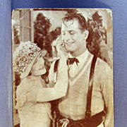 "Reginald Denny in Universal pictures ""Lightning Lover""  Real Photo Post Card"