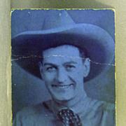 Arcade Card Buffalo Bill Jr.  Actor and Stuntman
