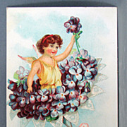 1908 New Year post card