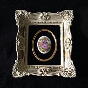B&S Creations New York framed plaque on velvet