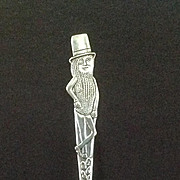 Collectible Planters Peanuts Mr. Peanut Carlton Silverplate Fork
