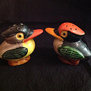 Lively Toucan Salt and Pepper Shakers