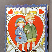 SALE Whitney Made Vintage Valentine