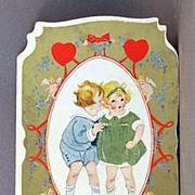 1920's Folding Valentine card