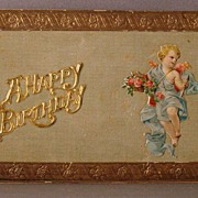 A Happy Birthday Post Card with Multiple Add-ons