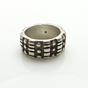 REDUCED Lisa Jenks Modernist Abstract Band Ring