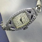 SALE PENDING Vintage Art Deco Ladies Bulova Watch